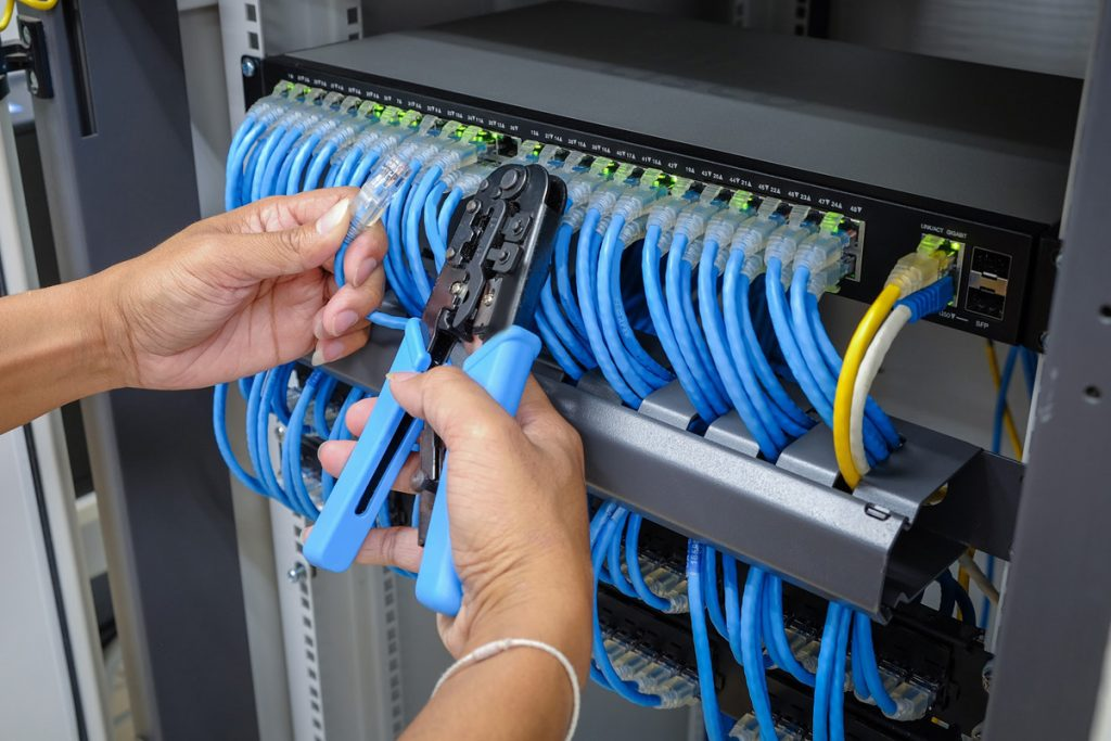 Network Drops Addition – Infrastructure Cabling